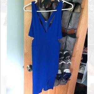 NWT Royal blue mini dress